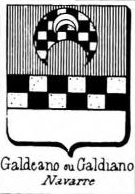Galdeano Coat of Arms / Family Crest 0