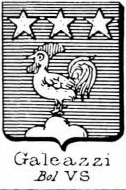 Galeazzi Coat of Arms / Family Crest 0