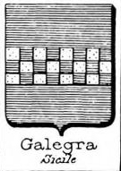 Galegra Coat of Arms / Family Crest 0