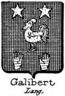 Galibert Coat of Arms / Family Crest 1