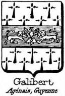Galibert Coat of Arms / Family Crest 0