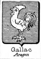 Gallac Coat of Arms / Family Crest 0
