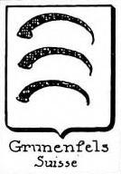 Grunenfels Coat of Arms / Family Crest 0