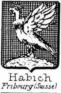 Habich Coat of Arms / Family Crest 0