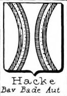 Hacke Coat of Arms / Family Crest 28