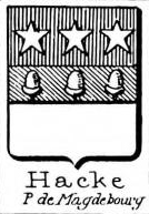 Hacke Coat of Arms / Family Crest 22