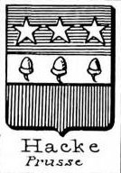 Hacke Coat of Arms / Family Crest 23