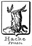 Hacke Coat of Arms / Family Crest 24