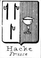 Hacke Coat of Arms / Family Crest 25