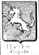 Hacke Coat of Arms / Family Crest 18