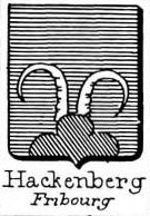 Hackenberg Coat of Arms / Family Crest 0