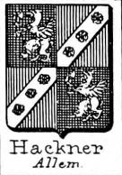 Hackner Coat of Arms / Family Crest 0