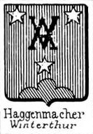 Haggenmacher Coat of Arms / Family Crest 0