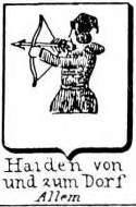 Haiden Coat of Arms / Family Crest 5