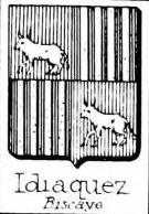 Idiaquez Coat of Arms / Family Crest 1