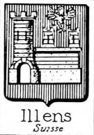 Illens Coat of Arms / Family Crest 1