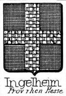 Ingelheim Coat of Arms / Family Crest 0
