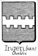 Ingen Coat of Arms / Family Crest 1