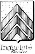 Inghelste Coat of Arms / Family Crest 0