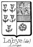 LAbye Coat of Arms / Family Crest 2