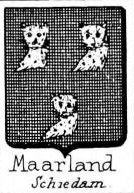 Maarland Coat of Arms / Family Crest 0