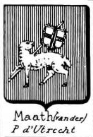 Maath Coat of Arms / Family Crest 2