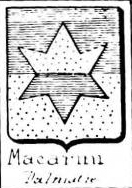 Macarini Coat of Arms / Family Crest 1