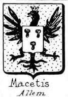 Macetis Coat of Arms / Family Crest 0