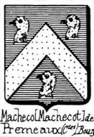 Macheco Coat of Arms / Family Crest 0