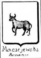 Maciejewski Coat of Arms / Family Crest 0