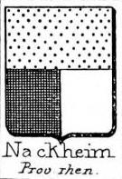 Nackheim Coat of Arms / Family Crest 2