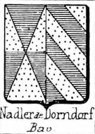 Nadler Coat of Arms / Family Crest 2