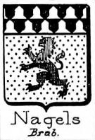 Nagels Coat of Arms / Family Crest 1