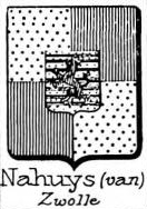 Nahuys Coat of Arms / Family Crest 1