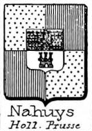 Nahuys Coat of Arms / Family Crest 0
