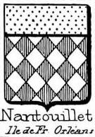 Nantouillet Coat of Arms / Family Crest 0