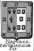 Narvaez Coat of Arms / Family Crest 2