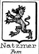 Natzmer Coat of Arms / Family Crest 2