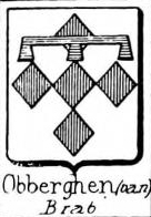 Obberghen Coat of Arms / Family Crest 1