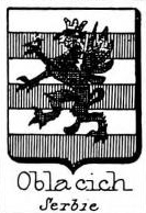 Oblacich Coat of Arms / Family Crest 0