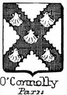OConnolly Coat of Arms / Family Crest 0