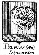 Paew Coat of Arms / Family Crest 0