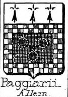 Paggiarii Coat of Arms / Family Crest 0
