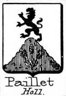 Paillet Coat of Arms / Family Crest 0