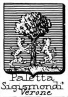 Paletta Coat of Arms / Family Crest 1