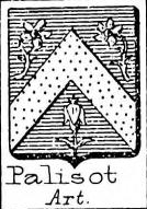 Palisot Coat of Arms / Family Crest 0