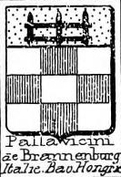 Pallavicini Coat of Arms / Family Crest 5