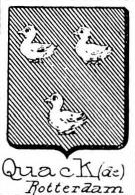Quack Coat of Arms / Family Crest 1