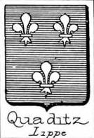 Quaditz Coat of Arms / Family Crest 0