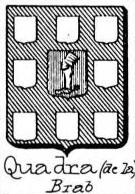 Quadra Coat of Arms / Family Crest 1